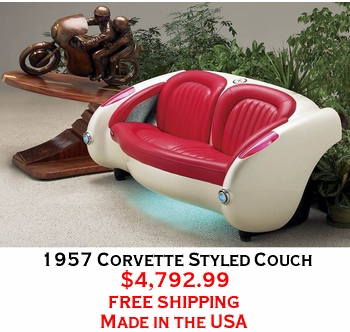 1957 Corvette Styled Couch