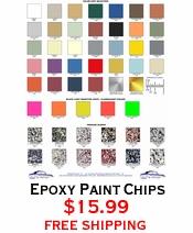Epoxy Paint Chips