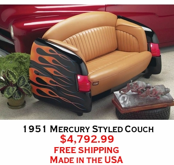 1951 Mercury Styled Couch