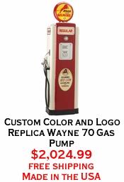 Custom Color and Logo Replica Wayne 70 Gas Pump