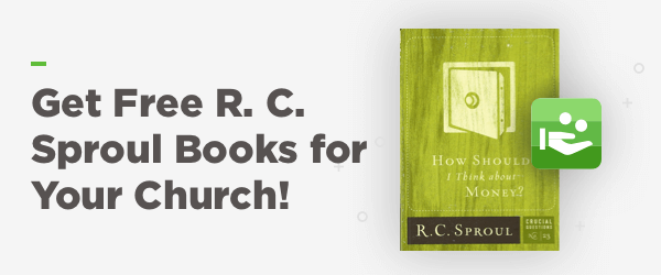 Get Free R.C. Sproul Books for your Chruch!