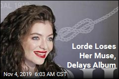 Lorde Loses Her Muse, Delays Album