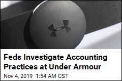 Feds Investigate Accounting Practices at Under Armour