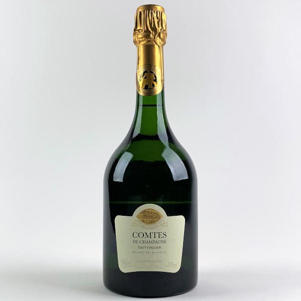 photo of label ofTaittinger Comtes de Champagne