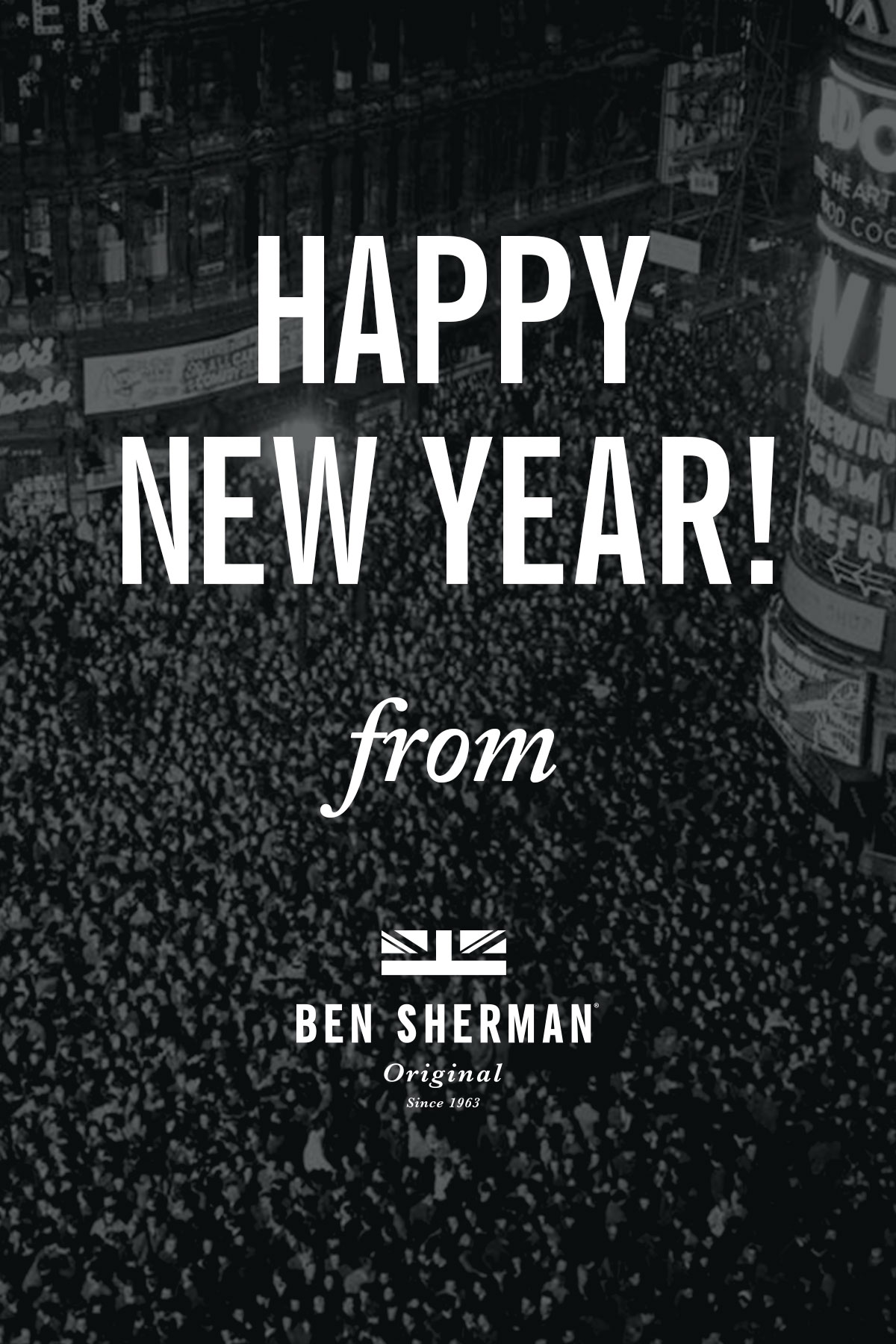Happy New Year! from Ben Sherman