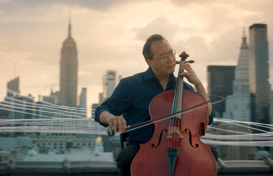 American cellist Yo-Yo Ma. (Photo courtesy of Shoemaker Studios)