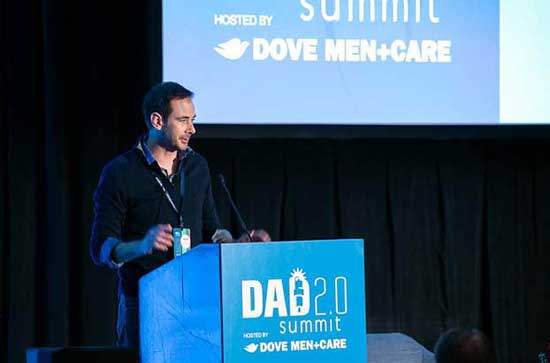 jason greene speaks at dad 2.0 summit