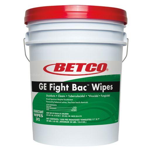 Betco® Big Bucket GE Fight FacT Disinfecting Wipes (1,500 PK)