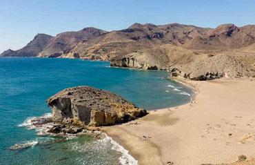 Playa Monsul in Almeria