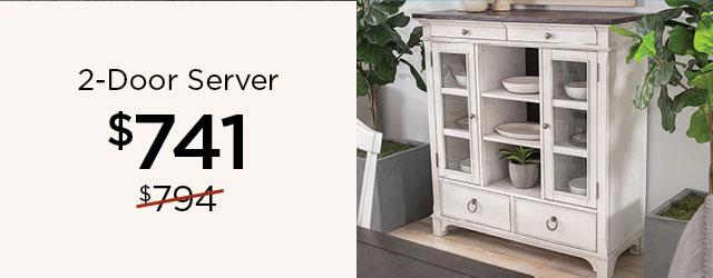 2-Door Server - $741
