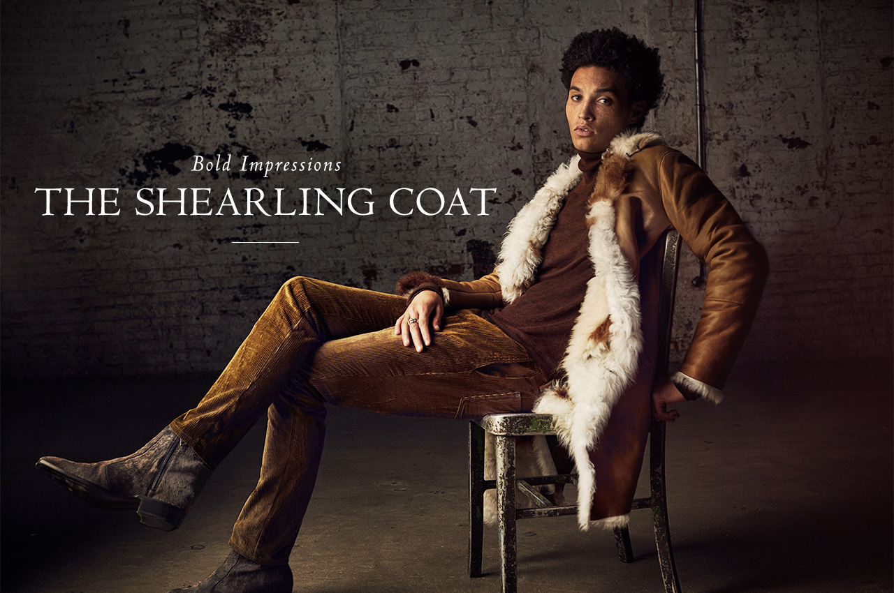 Bold Impressions - The Shearling Coat