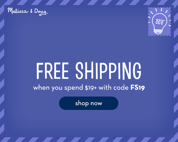 Free Shipping on Orders $19+! Use promo code FS19 at checkout. Let's play!