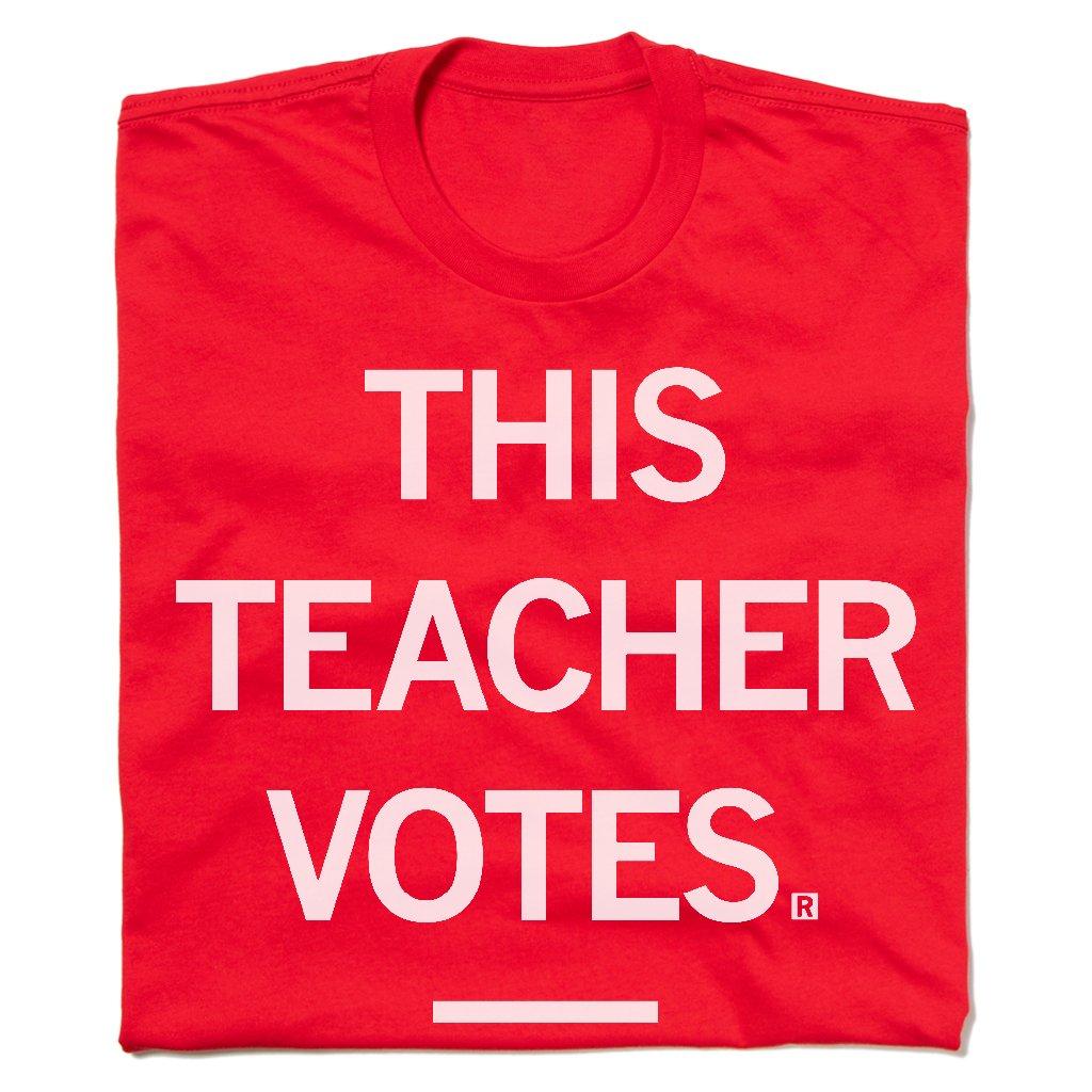 This Teacher Votes