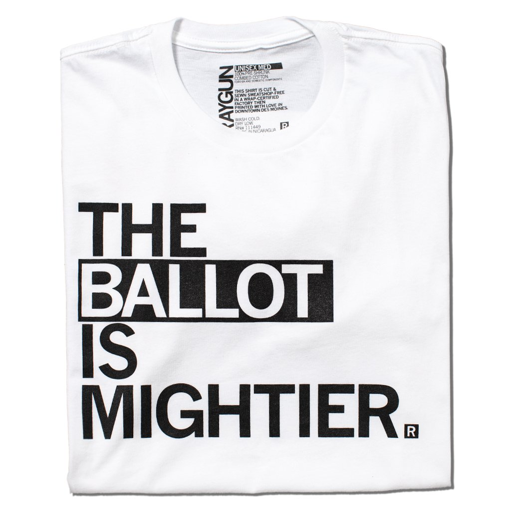The Ballot Is Mightier