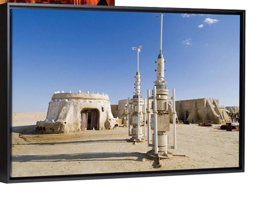 Star Wars set, Chott el Gharsa, Tunisia, North Africa, Africa by Ethel Davies
