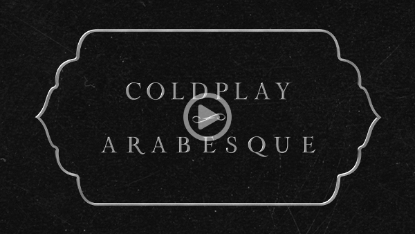 Coldplay Arabesque Image