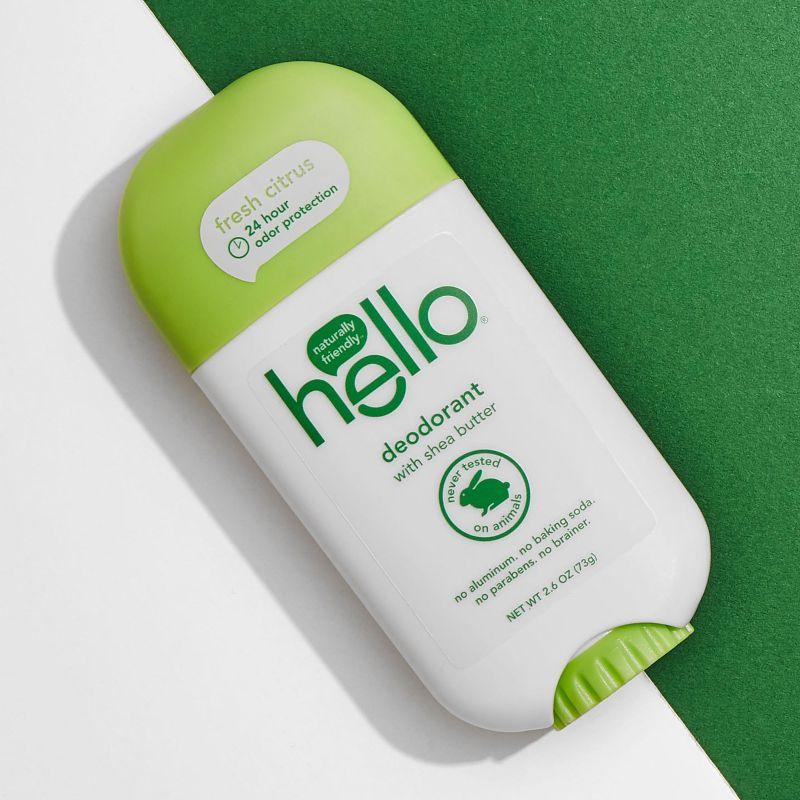 hello citrus deodorant