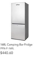 168L Camping Bar Fridge