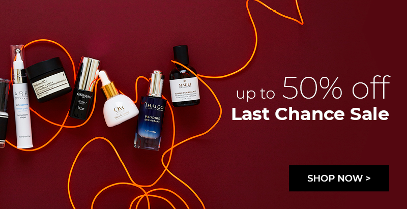 Up to 50% off Last Chance Sale