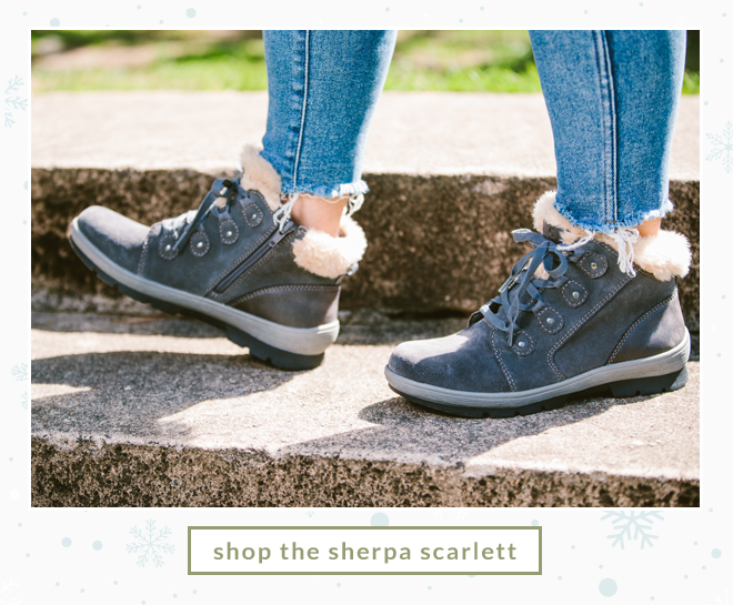 Shop the Sherpa Scarlett