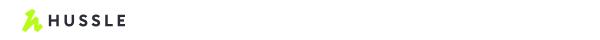 Hussle logo top header_white