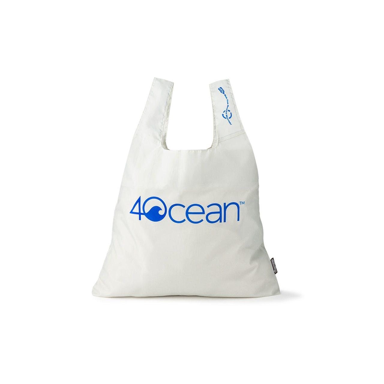4ocean x ChicoBag Reusable Shopping Bag - Grey