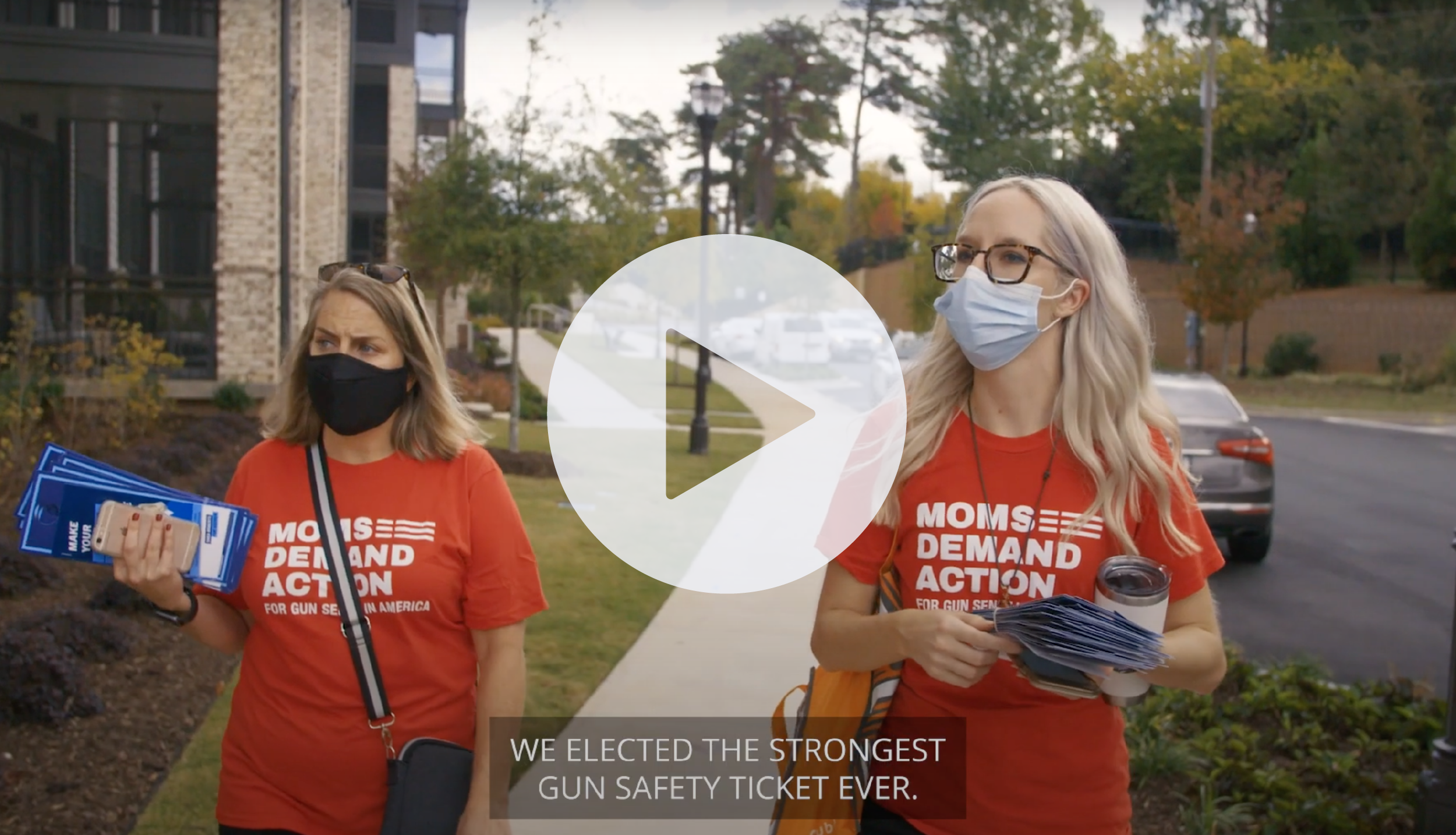 We elected the strongest gun safety ticket ever. Watch the video.
