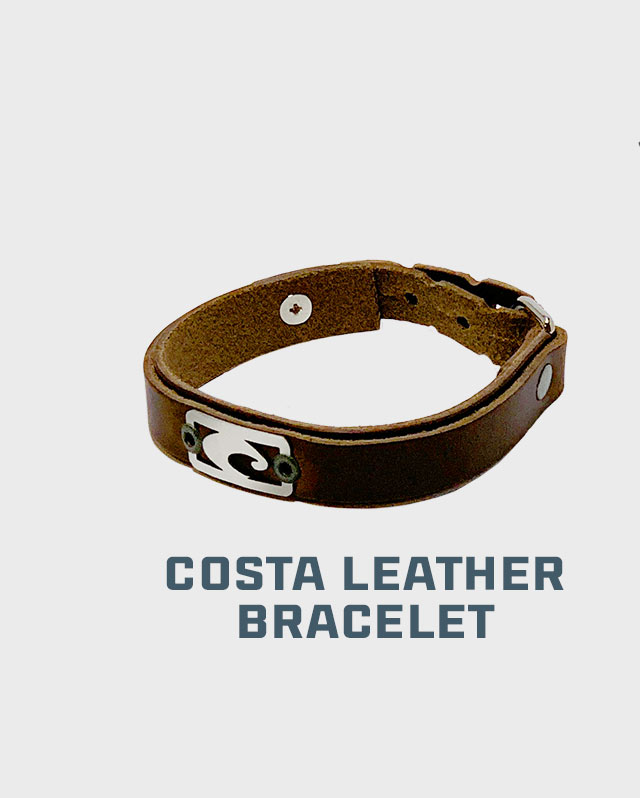 Small Costa Leather Bracelet