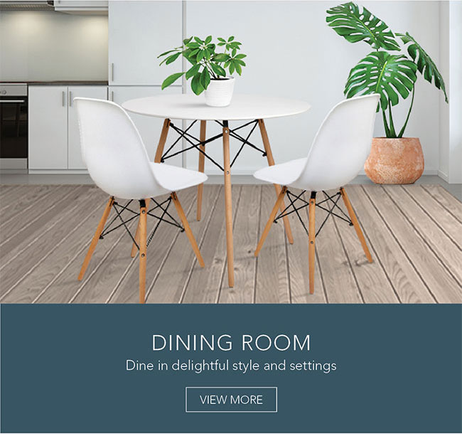 Dine in delightful style and settings