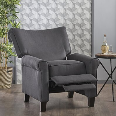 Thelma Traditional Fabric Recliner