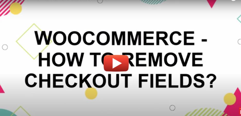 Remove Checkout field