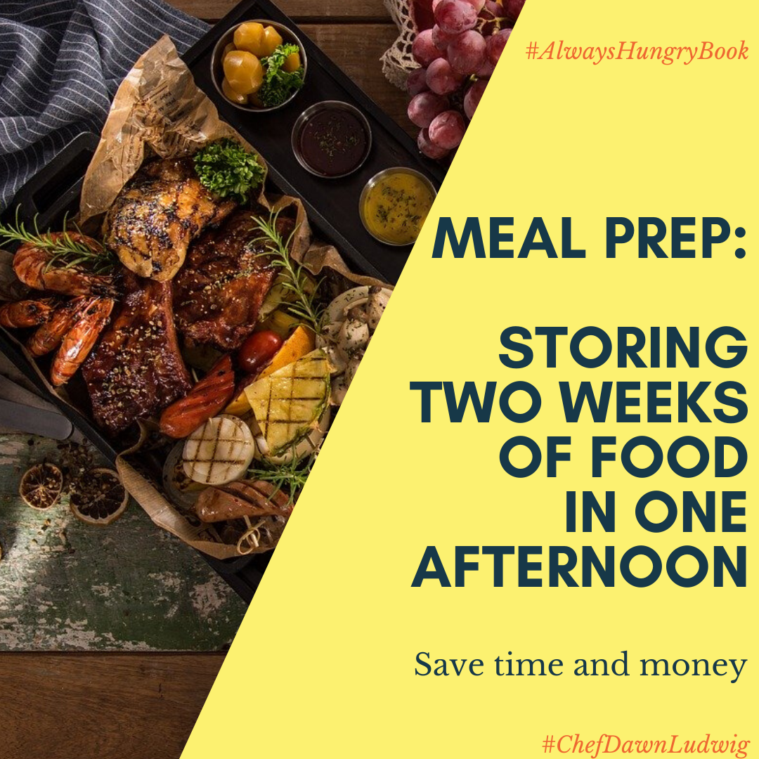 How To prep and store two weeks of food in one day