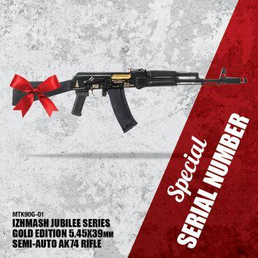 MTK90 Jubilee Series Rifle, Gold Edition
