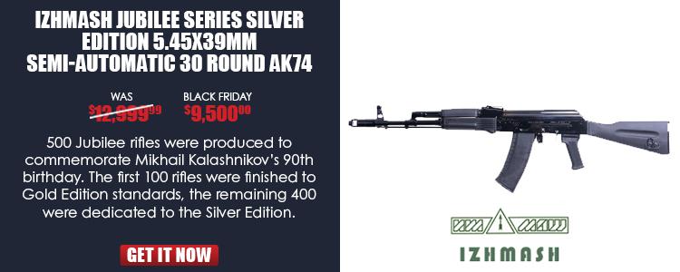 MTK90 Jubilee Series Rifle, Silver Edition