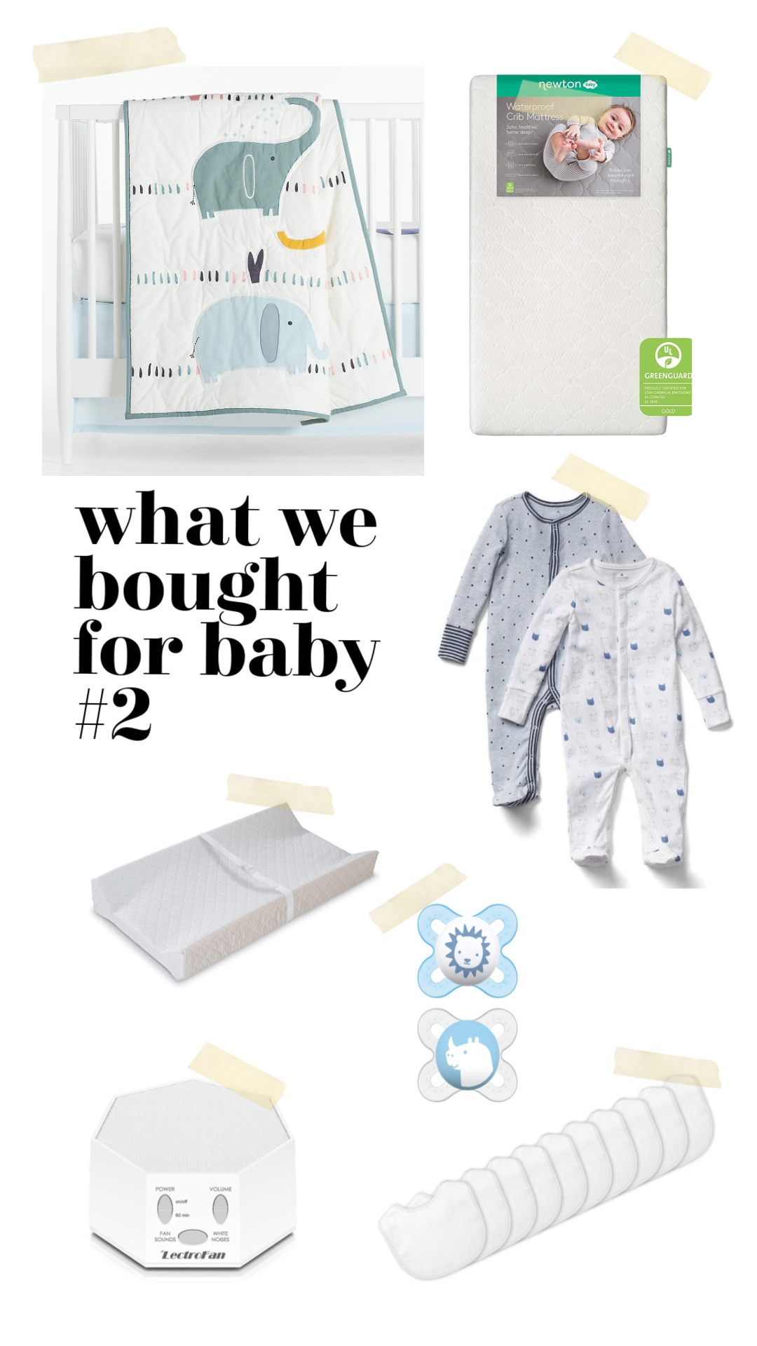 baby items for second baby