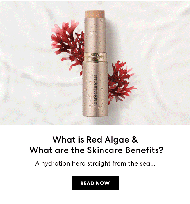 What is Red Algae & What are the Skincare Benefits? A hydration hero straight from the sea... - READ NOW