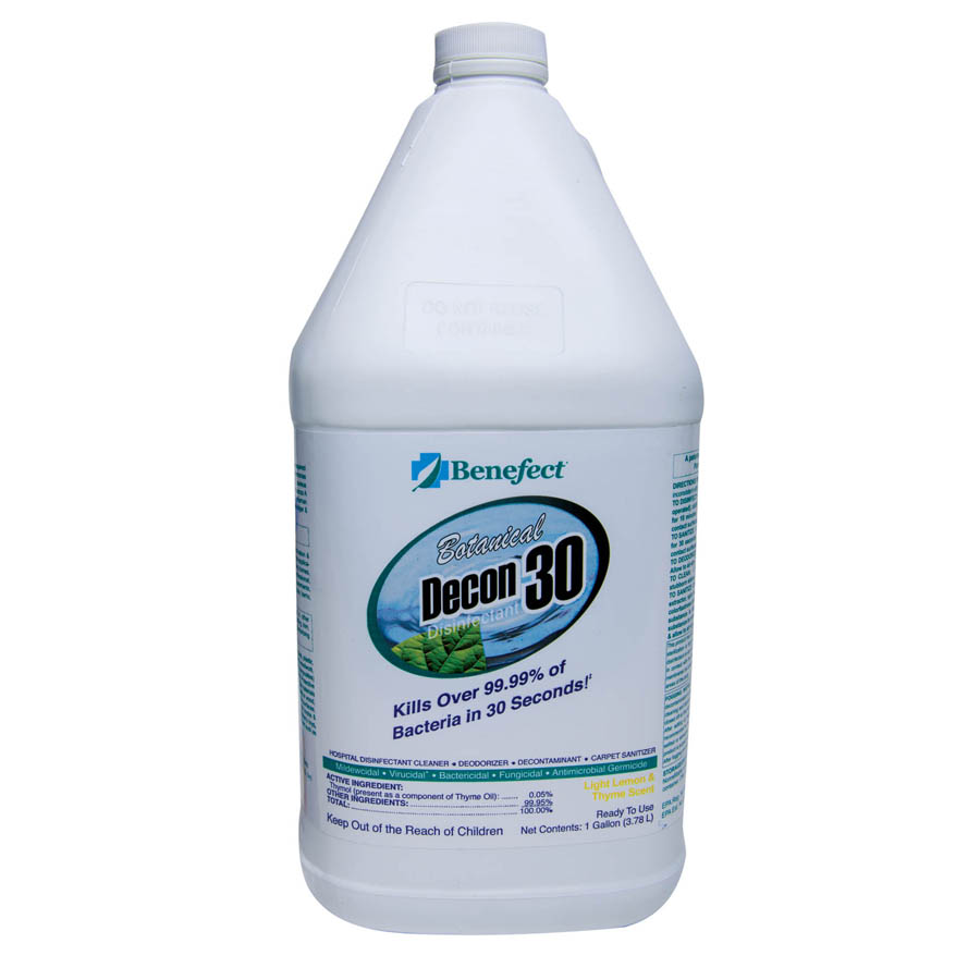 Benefect Botanical Decon 30 Disinfectant Cleaner