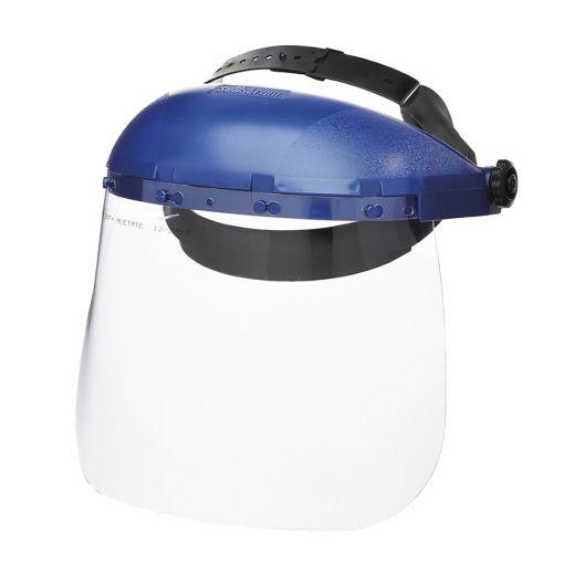 Single Crown Face Shield w/ Adjustable Headgear