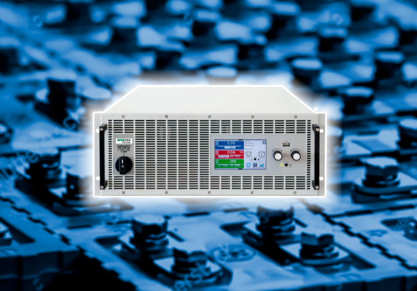 30 KW Auto-Ranging DC Supply with Energy-Recovering DC Load