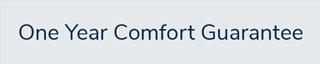 1-Year Comfort Guarantee