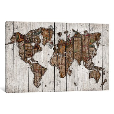 Wood Map by Diego Tirigall