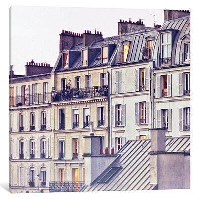 Bon Nuit Paris by Keri Bevan Canvas Print