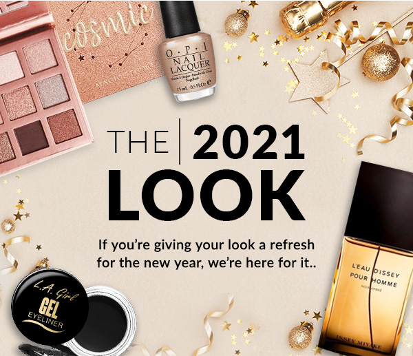 The 2021 look | If you're giving your look a refresh for the new year, we're here for it...