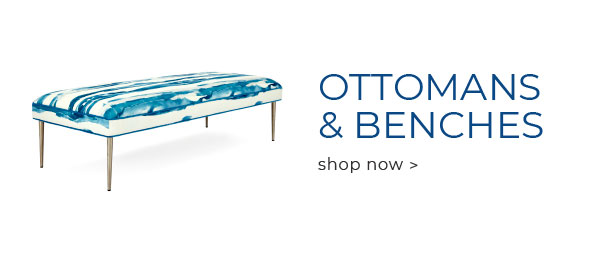 Shop Ottomans and Benches Now