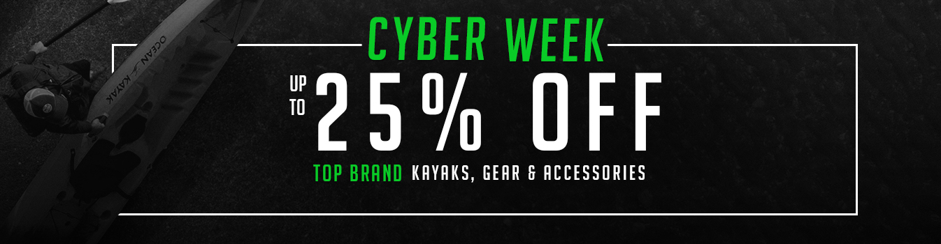 Cyber Week – Up To 25% Off