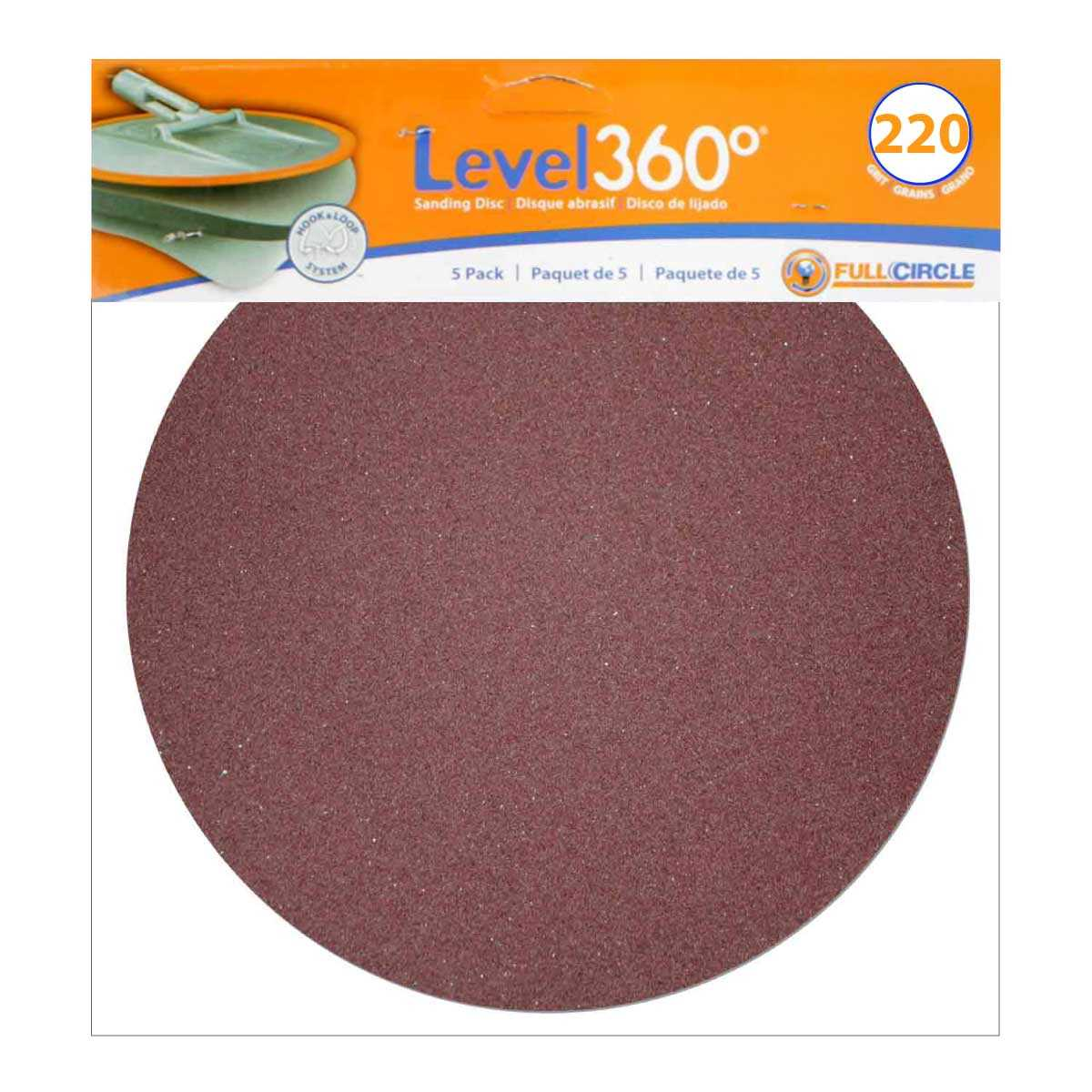 Level 360 Sanding Discs 9