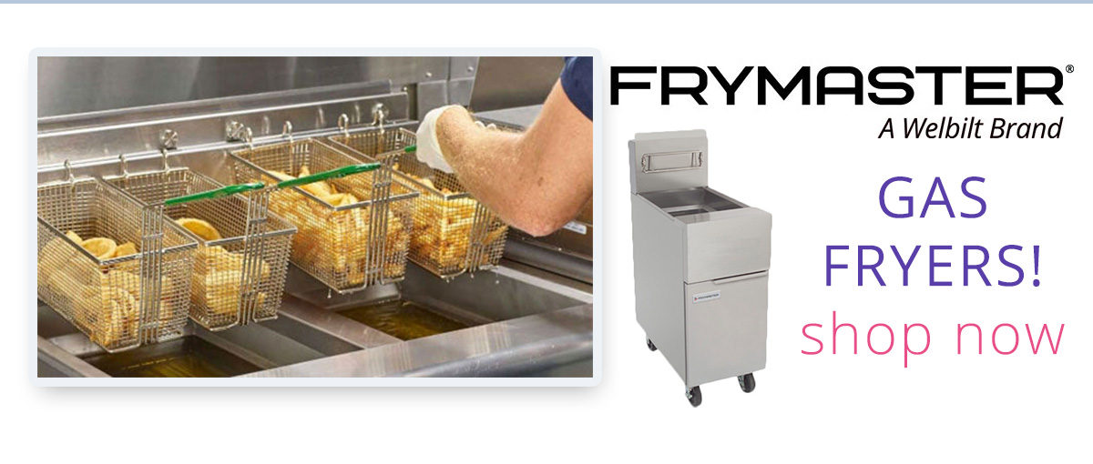 Frymaster Fryers Free Shipping Ends Soon!