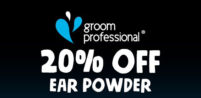 20% Off Groom Professional Ear Powder
