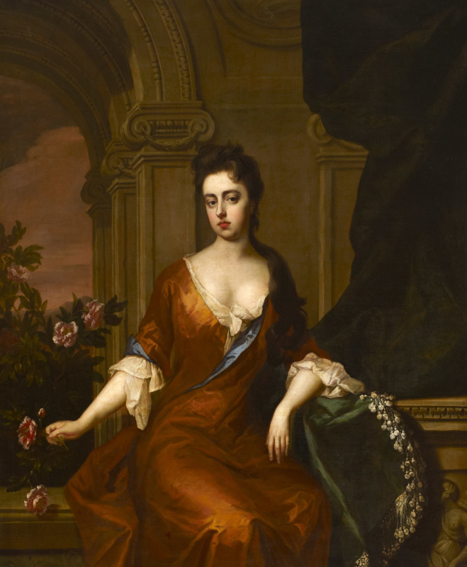 Lady Mary Somerset, Duchess of Ormonde (1665-1733)(c.1690s)