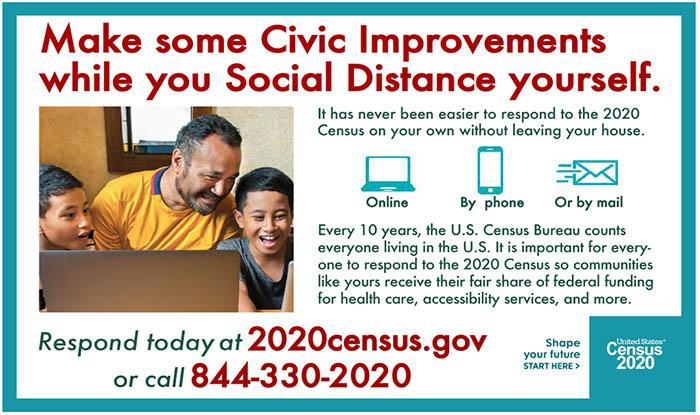 Census and Social Distacing